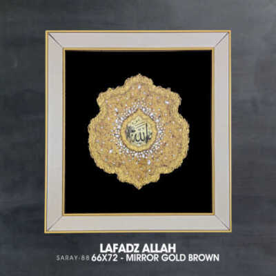 Saray 88 Allah – Gold Brown